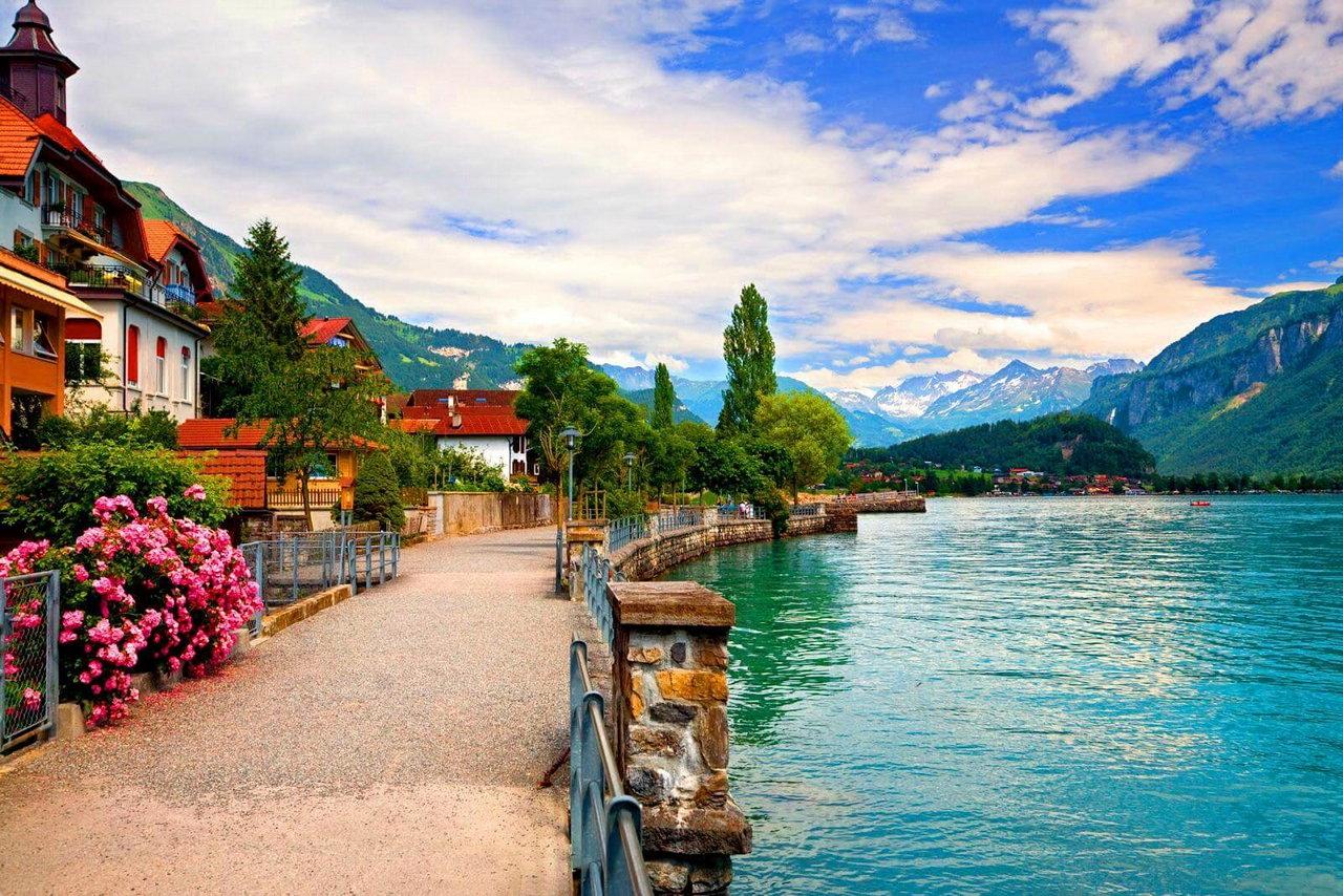 поднять красивые места швейцарии картинки бўлган