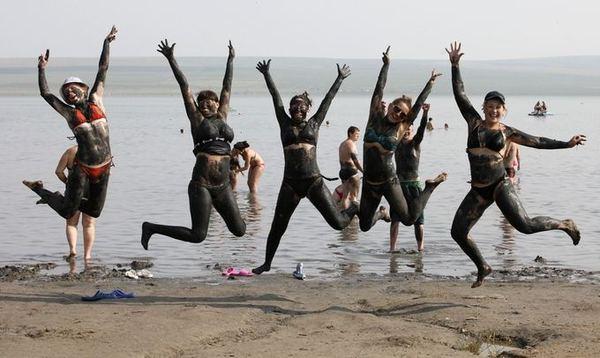 Туристические места Хакасии - соленое озеро Тус Россия зовет, Туризм, Хакасия, Россия, Соленое озеро, Тус, Мертвое море, Отдых в России, Длиннопост