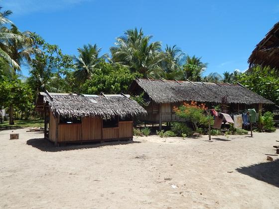 деревня в папуа новой гвинее