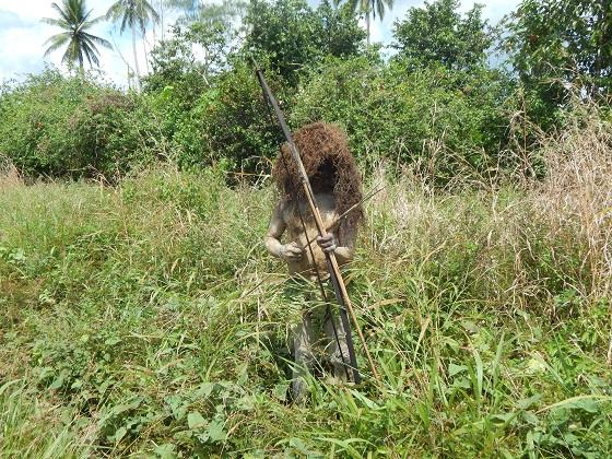 Охотник Папуа Новая Гвинея