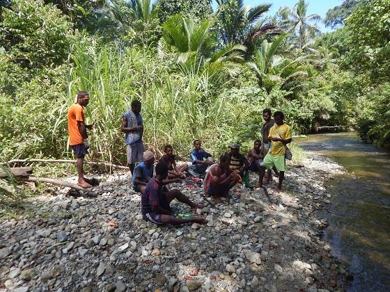 в джунглях папуа новой гвинеи