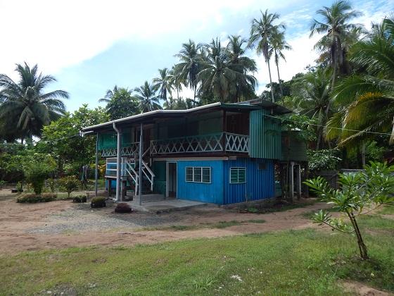 дом в папуа
