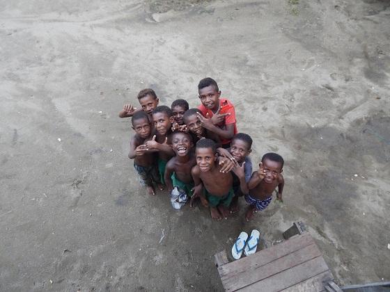 дети папуа новая гвинея