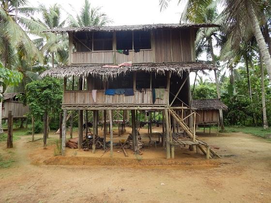 традиционная хижина папуа новая гвинея грин ривер